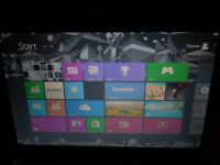 Trade your tablet for my Toshiba laptop & 21 HD Dynex TV