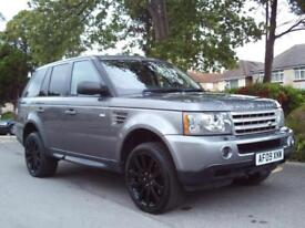 LAND ROVER RANGE ROVER SPORT 3.6TD V8 AUTO2009 HSE COMPLETE WITH M.O.T HPI CLEAR