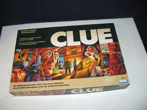 Jeu de société Clue