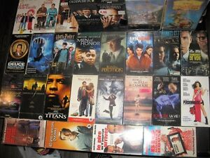 plusieur film vhs,dvd,blu-ray