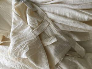 Cotton curtains, set of 4