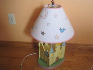 Girls Princess Lamp