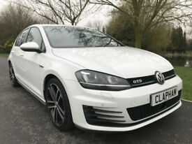 2015 65 VOLKSWAGEN GOLF GTD 2.0TDI 185BHP 1 OWNER 22,000 MILES ANY UK DELIVERY