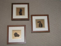 Framed Sculpture - Chinese Year Symbols