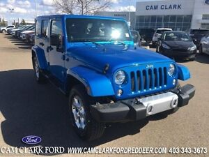 2014 Jeep Wrangler Unlimited Sahara   Navigation Trailer Tow Htd