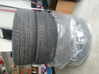 All season tires from Sienna
