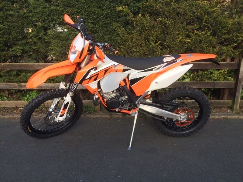 2016 ktm exc 125 road legal enduro in bingley west. Black Bedroom Furniture Sets. Home Design Ideas