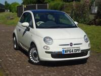 2014 FIAT 500 1.2 Lounge 3dr Dualogic [Start Stop]