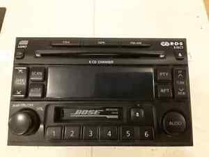Bose head unit / 6 CD changer from 2002 Pathfinder
