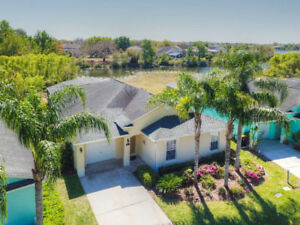 Orlando Vacation Home - Private South Facing Pool - Gated Commun