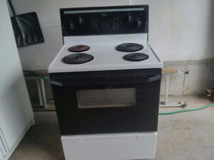 Maytag Refrigerator and Whirlpool Cooking Stove/Oven
