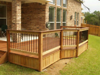Reliable company with great job 647 936 2737 Deck and fence