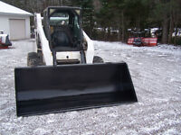 8'  Dirt or Snow Bucket - Skidsteer or Tractor