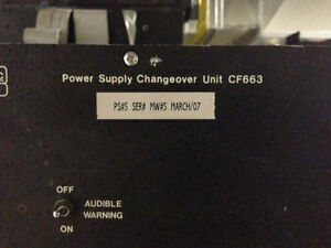 Power Supply Changeover Unit CF663