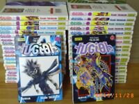 COLLECTION COMPLÈTE LIVRES MANGAS YU-GI-OH
