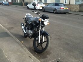 Scooter / moped 50cc to 125cc required