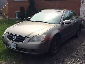 2002 Nissan Altima $800 obo