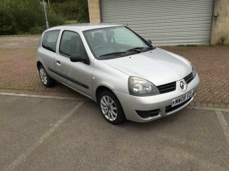 2008 renault clio 1 2 campus 8v 3 door silk silver metallic in blackwood caerphilly gumtree. Black Bedroom Furniture Sets. Home Design Ideas