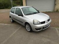 2008 Renault Clio 1.2 Campus 8v 3 Door Silk Silver Metallic