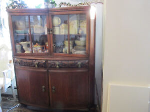 English Country China Cabinet