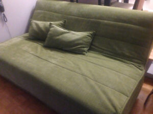Green Velvet Ikea Click Clack Couch