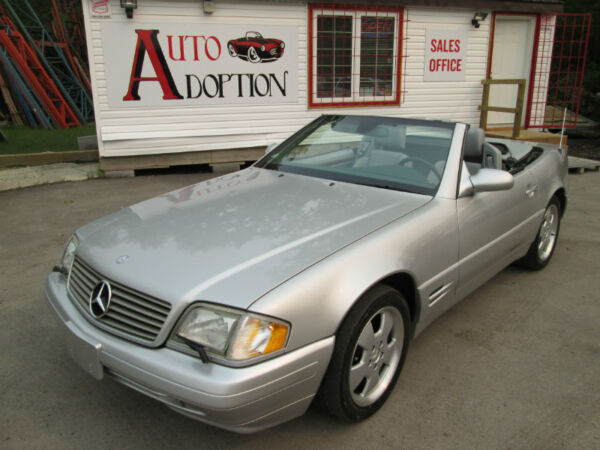 Used 2002 Mercedes-Benz SL-Class