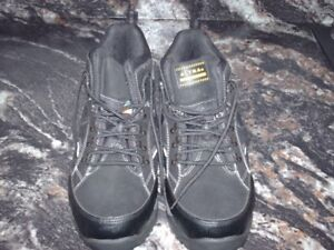 Steel Toe Ankle Boots