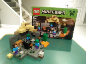 Lego minecraft dungeon set 21119