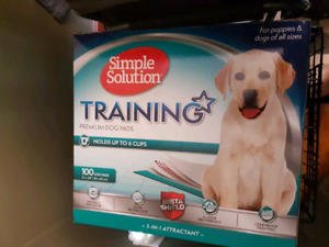 Puppy or dog pee pads (new)