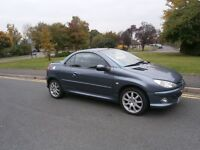 Peugeot 206 Sport Coupe Cabriolet HDI (grey) 2005