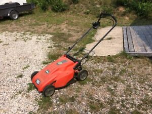 Black and decker cordless lawnmower