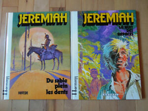 2 albums bd de JEREMIAH en excellente condition dont 1 EO