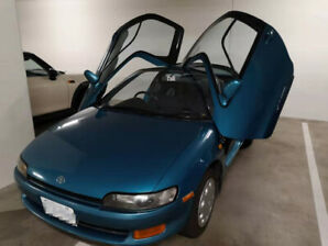 1993 Toyota Sera with Unique Butterfly Doors