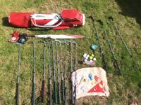 Golf Clubs with Bag, Accessories & Balls!! Accepting Offers!!!
