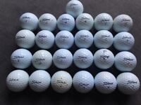 25 TITLEIST NXT TOUR GOLF BALLS