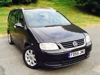 VW TOURAN 1.9TDI 6 SPEED
