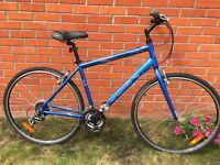 Mongoose crossway 300 hybrid mans bike