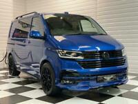 2021 VW Volkswagen Transporter T6.1 Kombi BiTDi DSG 4Motion SWB Ravenna Blue