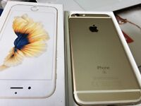 iPhone 6S 64GB Gold, Boxed with Apple warranty