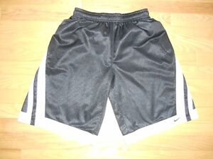 LONG BLACK NIKE SHORTS