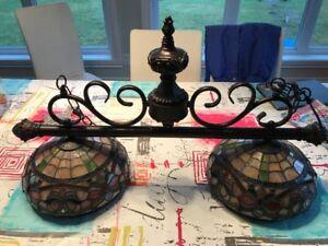 Lampe Tiffany pour table de pool/billard