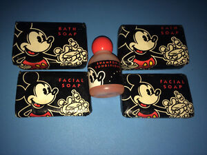 Mickey Mouse Club Lot of Bath & Hand Soap & Shampoo Conditioner