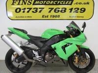 Kawasaki ZX10R, Green, Tidy, Rides well, MOT, Warranty