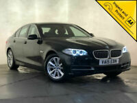 2015 BMW 520D SE AUTO SAT NAV HEATED FRONT & REAR SEATS 1 OWNER SERVICE HISTORY