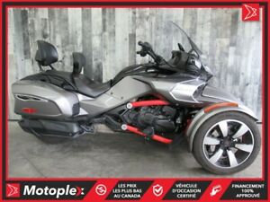 2016 Can-Am SPYDER F3T SE6 78$/SEMAINE