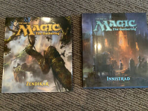 Magic the Gathering - cards and books