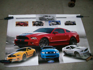 Poster / Affiche Ford Mustang Performance & Design 2005-2014