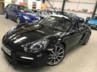 2015 Porsche Boxster 2.7 981 Black Edition Convertible 2dr Petrol PDK (183