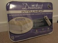 Double electric underblanket with dual controls - Dreamland Intelliheat