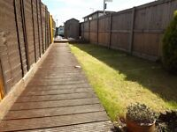 TWO BEDROOM HOUSE WITH PARKING AND PRIVATE GARDEN!